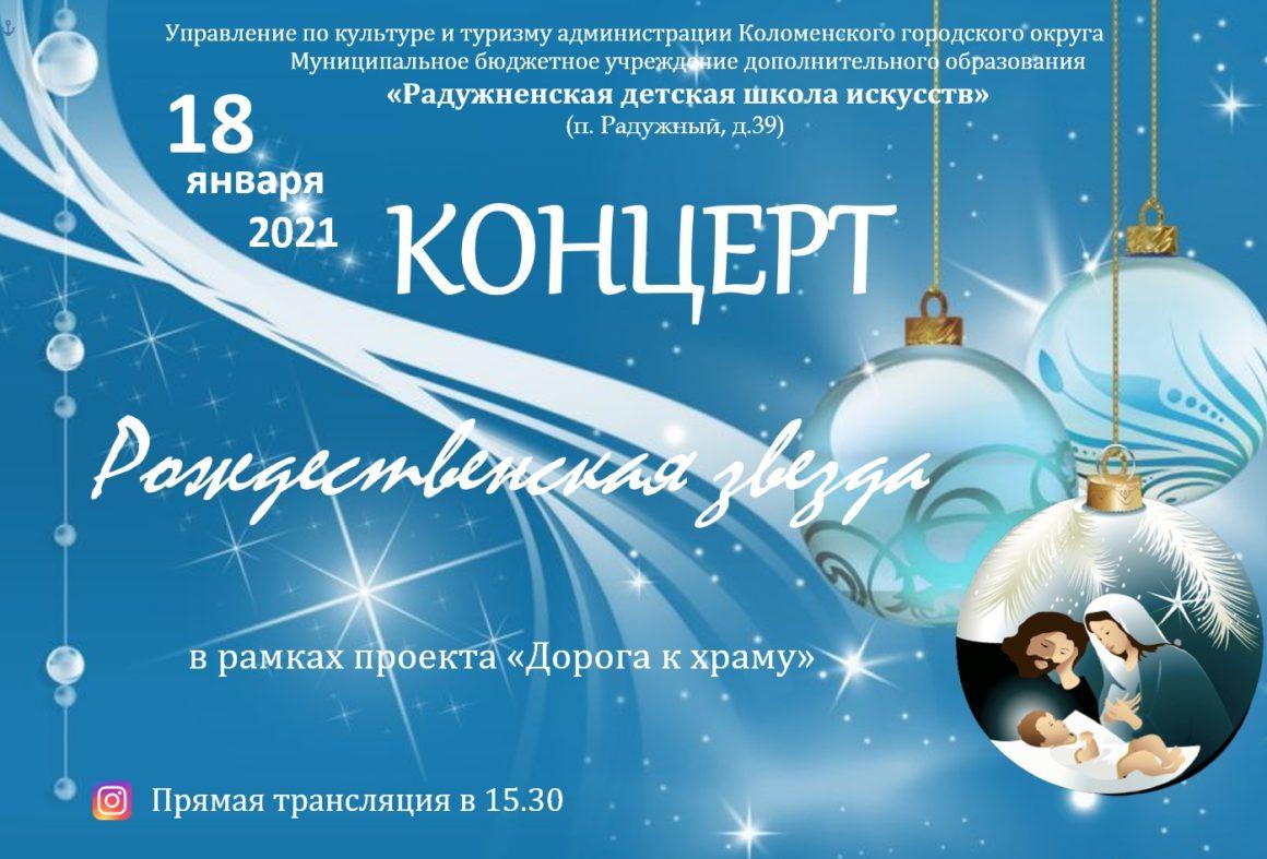 Праздничный вечер «Рождественская звезда» в рамках проекта «Дорога к храму».