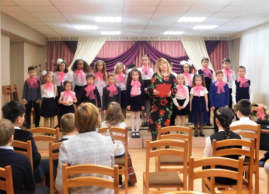 25 февраля 2021 г. в уютном концертном зале школы состоялся концерт «Весенние ноты февраля».