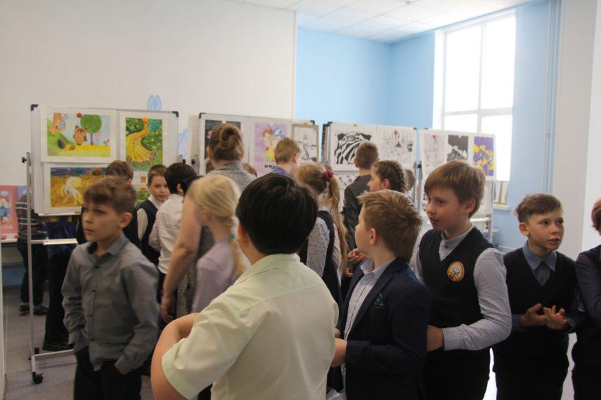 30 апреля 2021 г. в Песковской СОШ прошла презентация художественного отделения школы.