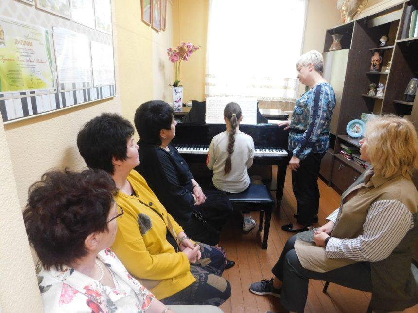 13 мая 2021 г. прошёл открытый урок по классу фортепиано преподавателя Беловой О. В.