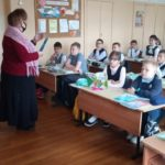 15 сентября 2021 г. преподаватель Горбачева Л.А. провела беседу с учащимися учебной площадки «Городищи» на тему : «Основы здорового образа жизни».