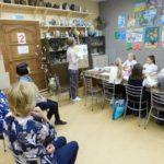 21 сентября 2021 г. прошел открытый урок по декоративной живописи преподавателя Лапа О.В.