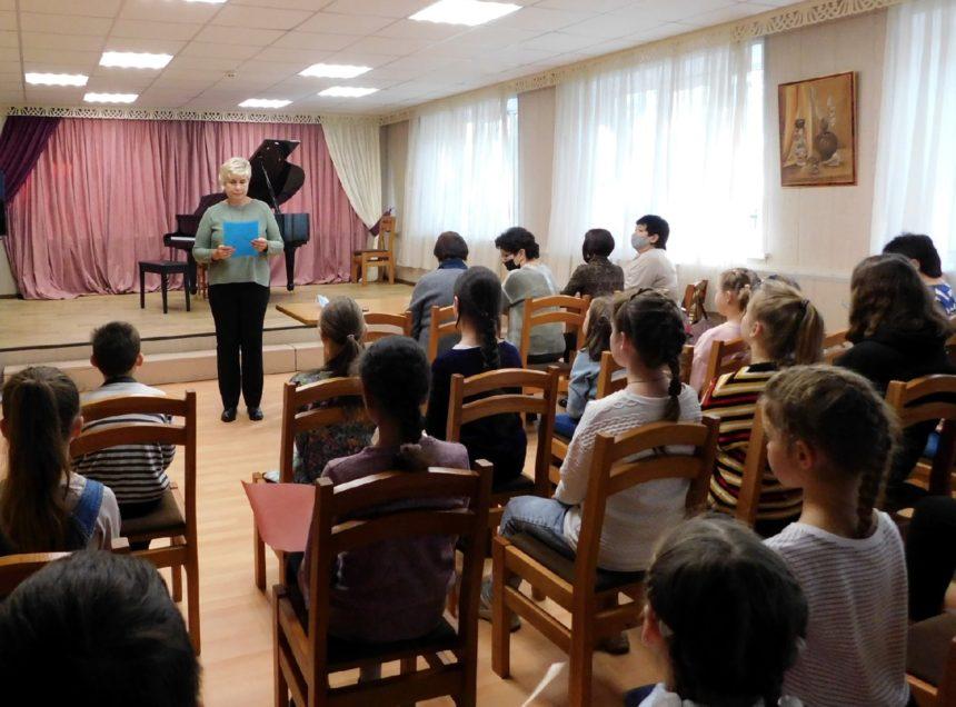 8 октября 2021 г. на фортепианном отделе был проведён концерт-прослушивание «Господин этюд всех ждёт, нас талант не подведёт».