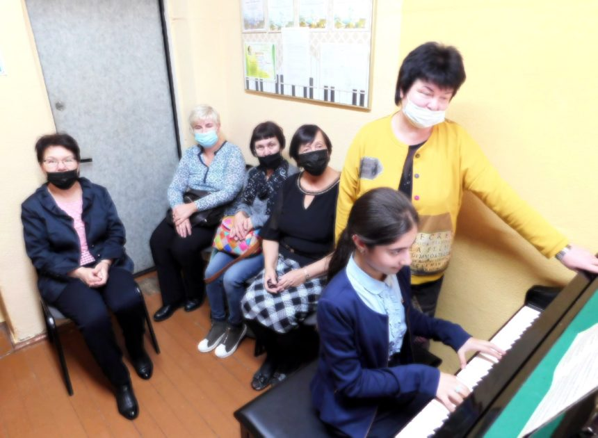 15 октября 2021 г. на фортепианном отделе состоялся открытый урок.